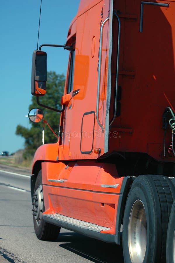 αυτοκινητόδρομος semitruck στοκ εικόνα