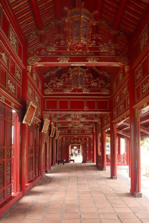 Αυτοκρατορική πόλη - ακρόπολη του χρώματος - Βιετνάμ 2 στοκ εικόνες με δικαίωμα ελεύθερης χρήσης