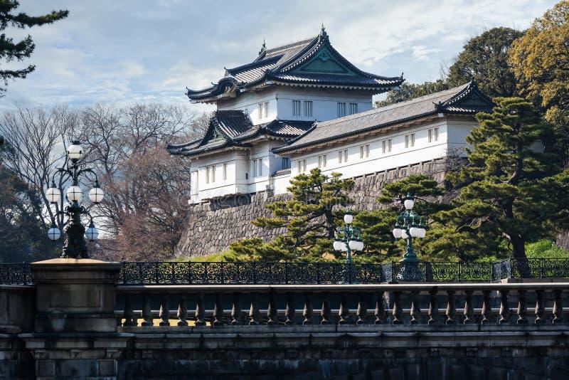 Αυτοκρατορικό παλάτι στην Ιαπωνία, Τόκιο στοκ εικόνες με δικαίωμα ελεύθερης χρήσης