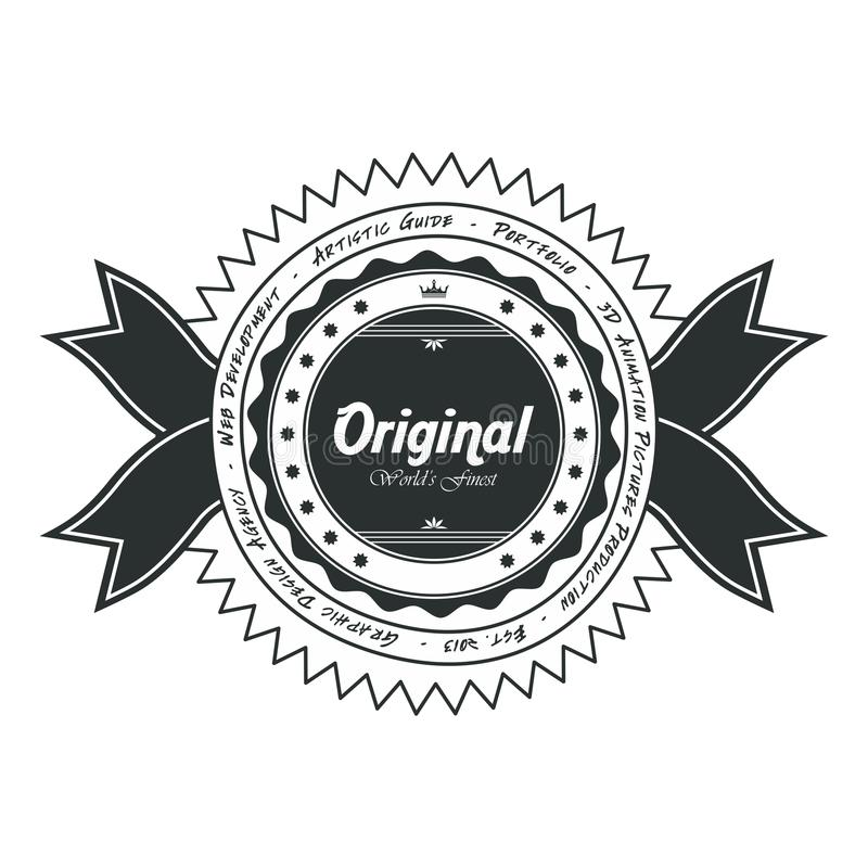 Download Αυτοκόλλητη ετικέττα ετικετών Διανυσματική απεικόνιση - εικονογραφία από έμβλημα, ετικέτα: 62710201