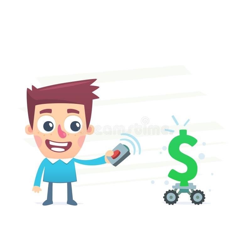 Αυτοματοποιημένος έλεγχος των χρημάτων απεικόνιση αποθεμάτων