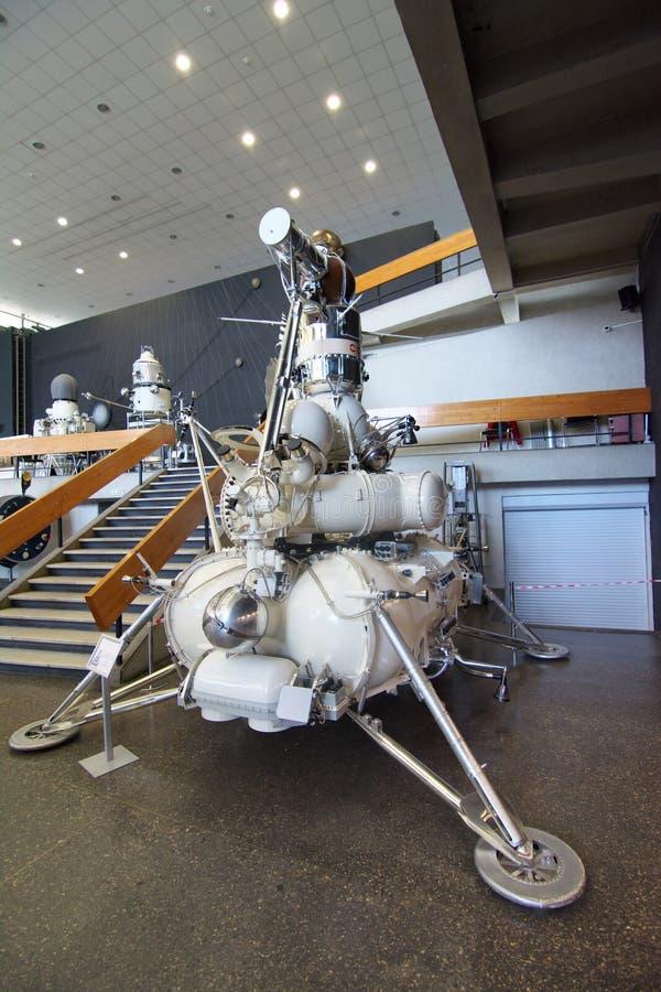 Αυτόματος ρωσικός διαστημικός σταθμός Luna-16 στο μουσείο Cosmonautics Tsiolkovsky στοκ φωτογραφίες με δικαίωμα ελεύθερης χρήσης