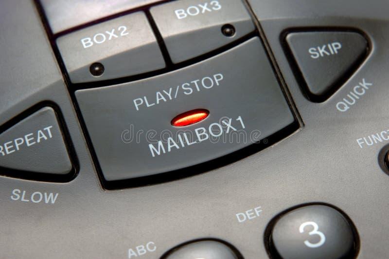 αυτόματος τηλεφωνητής στοκ φωτογραφία με δικαίωμα ελεύθερης χρήσης