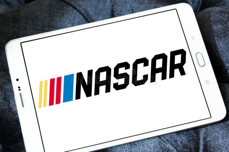 Αυτόματο λογότυπο αγώνα NASCAR στοκ φωτογραφία με δικαίωμα ελεύθερης χρήσης