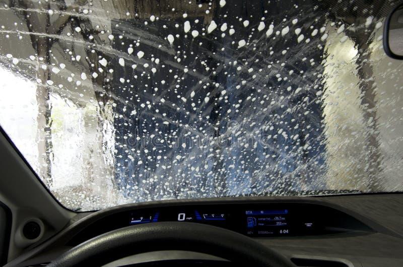Αυτόματο πλύσιμο αυτοκινήτων στοκ εικόνα με δικαίωμα ελεύθερης χρήσης