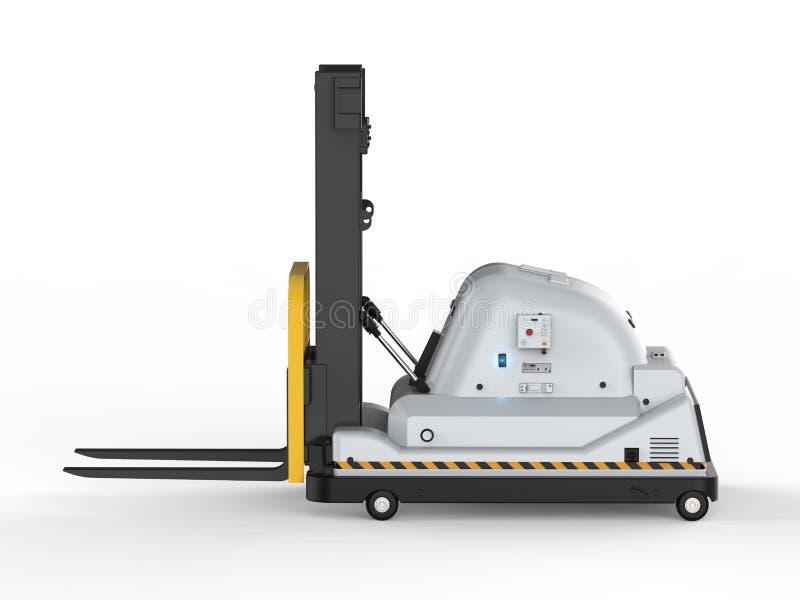 Αυτόματο forklift φορτηγό ελεύθερη απεικόνιση δικαιώματος