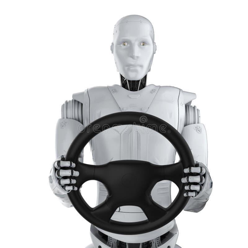 Αυτόνομη έννοια αυτοκινήτων ελεύθερη απεικόνιση δικαιώματος