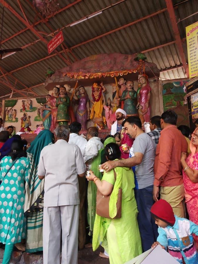 Αυτός ο ναός τοποθετεί το μέσο parikrama στοκ φωτογραφίες
