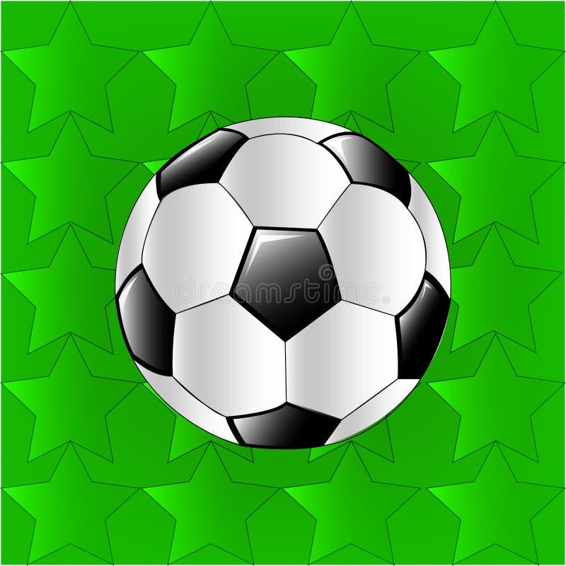 Αυτό είναι μια διανυσματική σφαίρα ποδοσφαίρου στοκ εικόνες