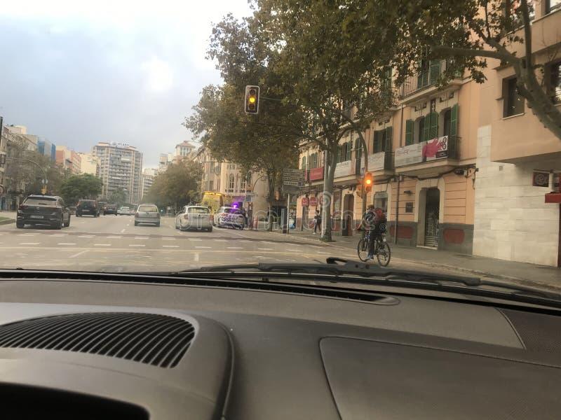 Αυτό είναι πόλη της Πάλμα ντε Μαγιόρκα στοκ εικόνες με δικαίωμα ελεύθερης χρήσης