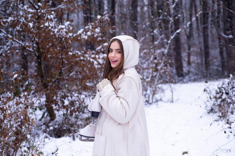 Αυτό που συμβαίνει κατά τη διάρκεια της χειμερινής εποχής Εποχή του χειμώνα Απόλαυση της φύσης wintertime Έννοια χειμερινών διακο στοκ εικόνα με δικαίωμα ελεύθερης χρήσης