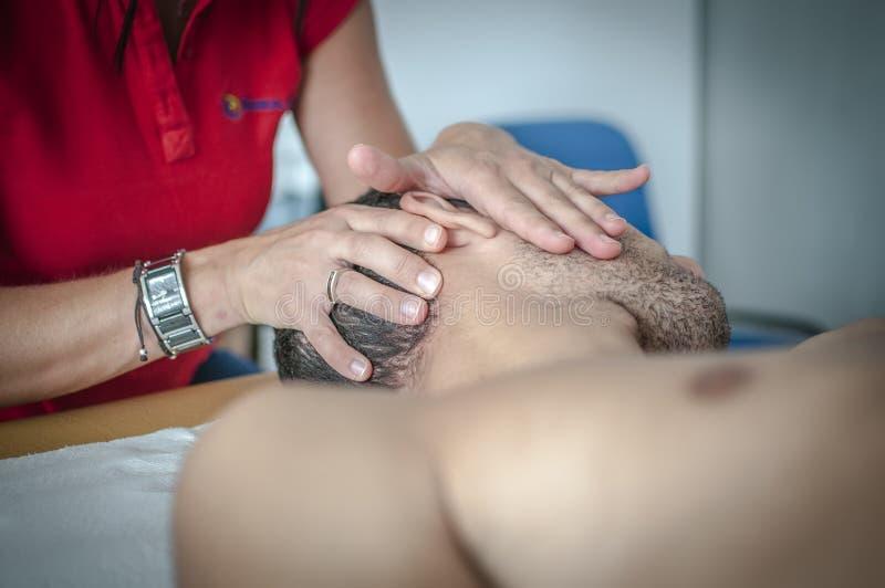 αυχενικός πόνος στοκ φωτογραφία με δικαίωμα ελεύθερης χρήσης