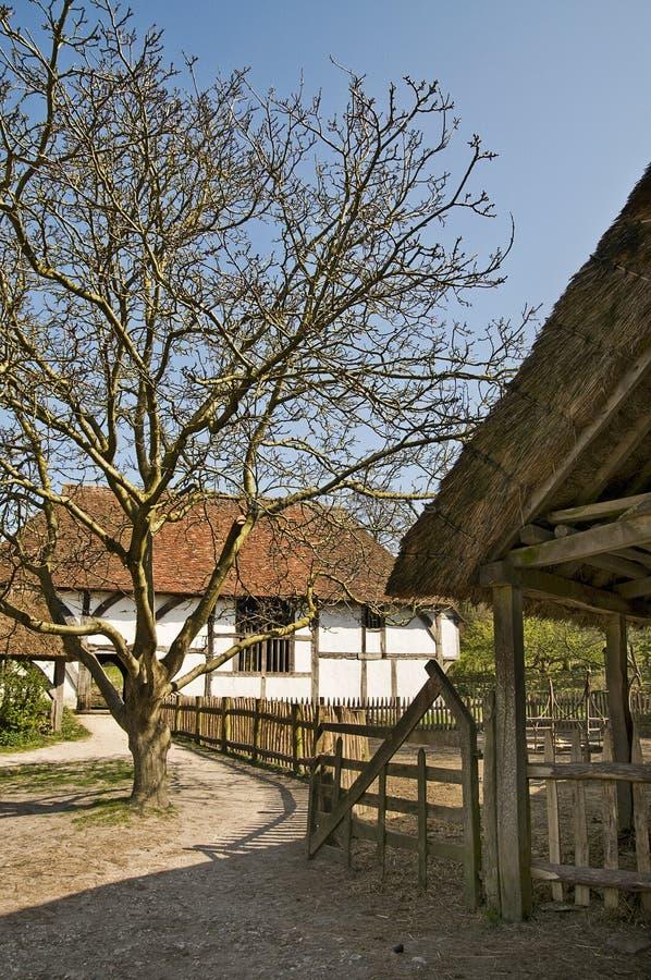 Αυλή Tudor στοκ φωτογραφία με δικαίωμα ελεύθερης χρήσης