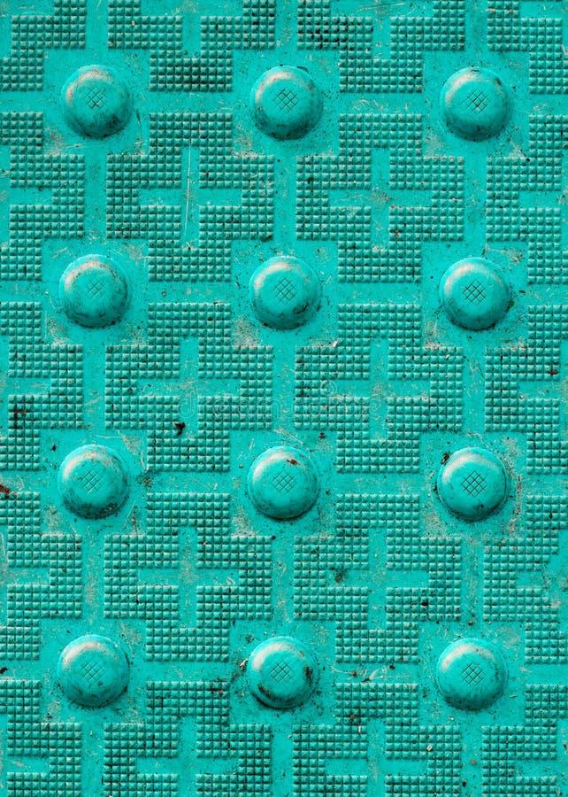 Αφής επίστρωση με την κατασκευασμένη επίγεια επιφάνεια με τα σημάδια, indic στοκ φωτογραφία με δικαίωμα ελεύθερης χρήσης