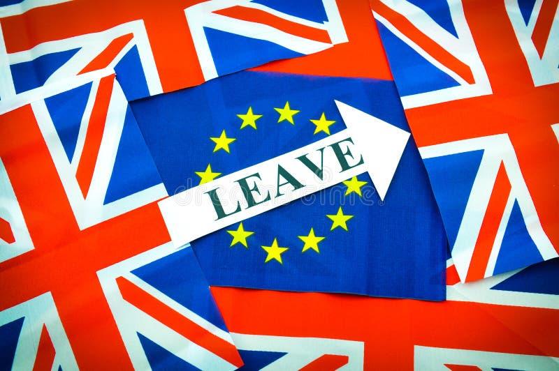 Αφήστε την ΕΕ στοκ φωτογραφία με δικαίωμα ελεύθερης χρήσης