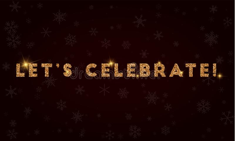 Αφήστε ` s να γιορτάσει! ελεύθερη απεικόνιση δικαιώματος