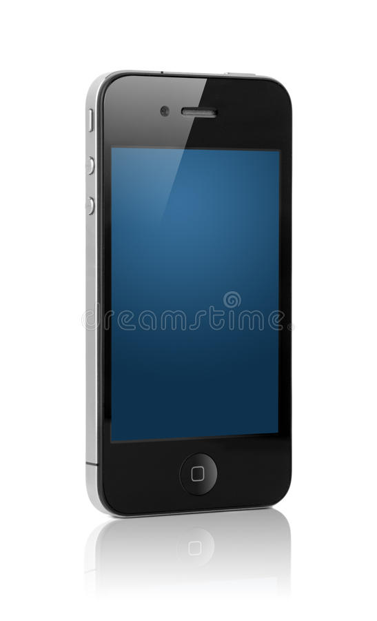 αφή smartphone οθόνης στοκ φωτογραφίες