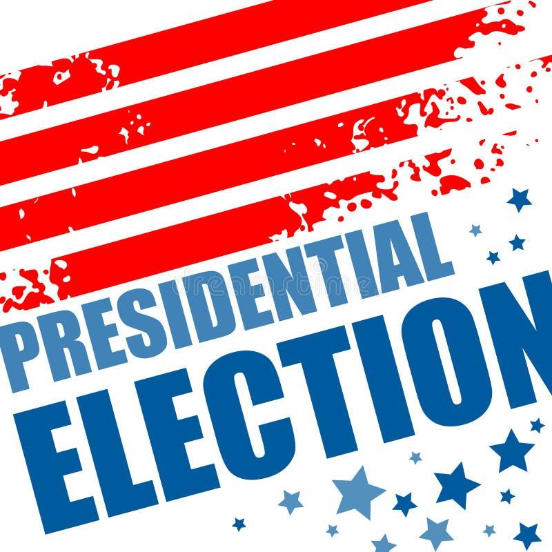 2016 αφίσα ΑΜΕΡΙΚΑΝΙΚΩΝ προεδρικών εκλογών επίσης corel σύρετε το διάνυσμα απεικόνισης απεικόνιση αποθεμάτων