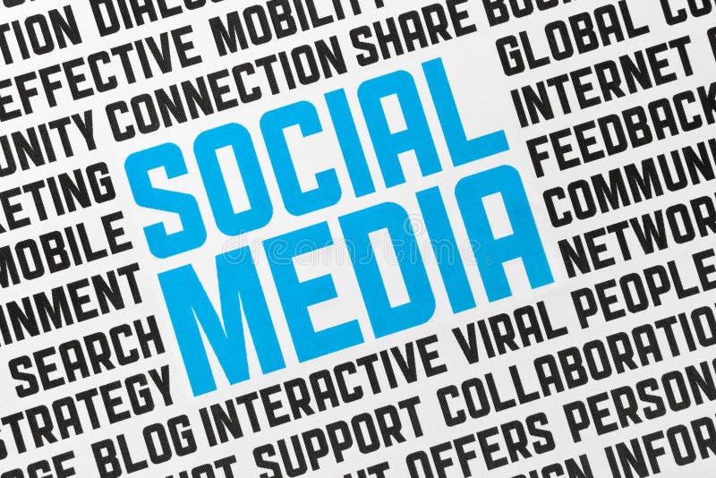 αφίσα μέσων κοινωνική απεικόνιση αποθεμάτων