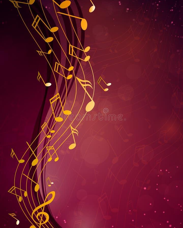 Αφίσα μουσικής απεικόνιση αποθεμάτων
