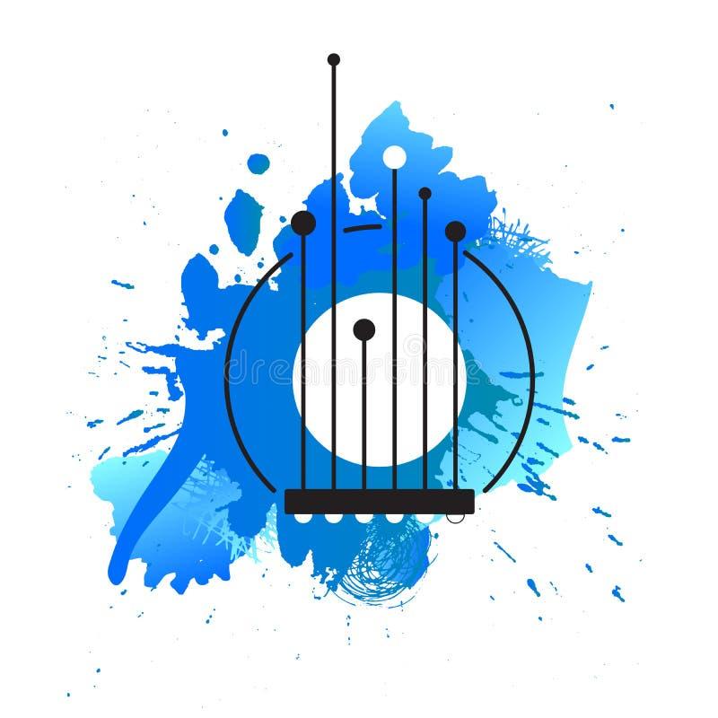 αφίσα μουσικής στοκ φωτογραφία με δικαίωμα ελεύθερης χρήσης