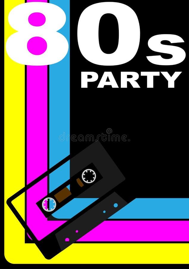 αφίσα συμβαλλόμενου μέρους της δεκαετίας του '80 ελεύθερη απεικόνιση δικαιώματος