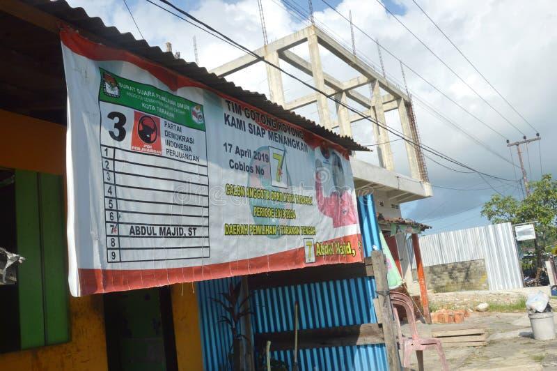 Αφίσα των υποψηφίων για το νομοθετικό σώμα στοκ εικόνα με δικαίωμα ελεύθερης χρήσης