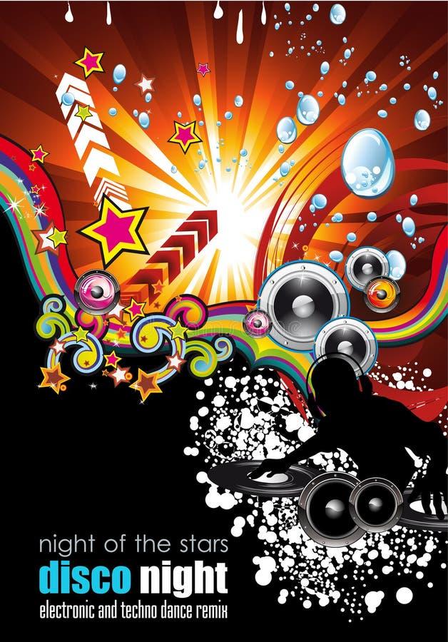 αφίσες μουσικής ιπτάμενω ελεύθερη απεικόνιση δικαιώματος