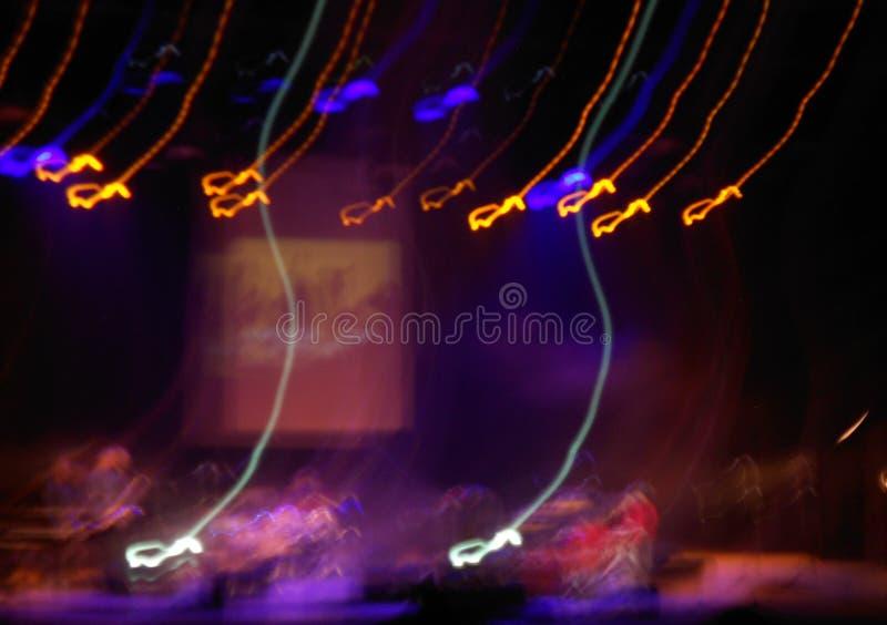 Αφαίρεση με τις κίτρινες και μπλε γραμμές στοκ φωτογραφία με δικαίωμα ελεύθερης χρήσης