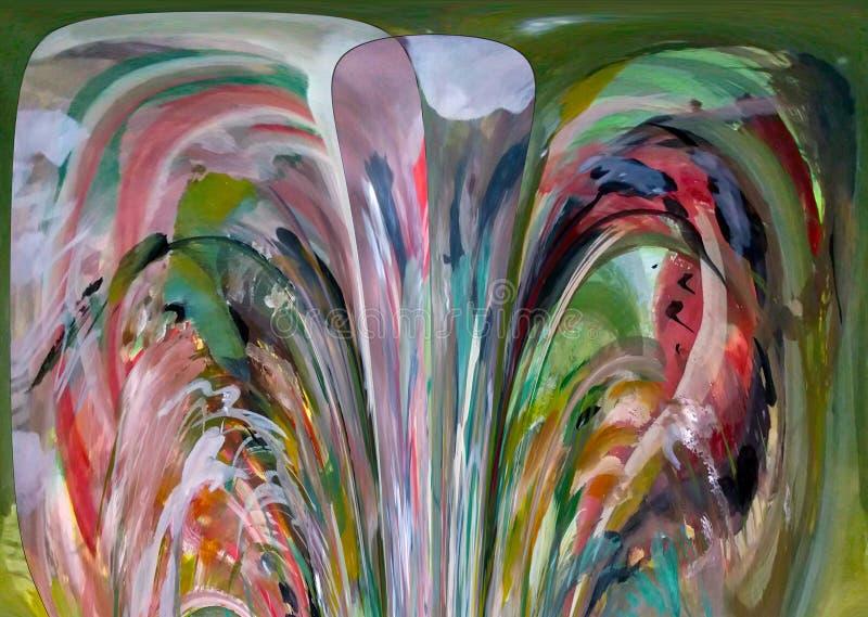 αφαίρεση Περίληψη ζωγραφική εικόνα σύσταση κατασκευασμένος μοναδικότητα αφαιρετικότητας αφαίρεσης συστάσεις ζωηρόχρωμος χρώματα G απεικόνιση αποθεμάτων