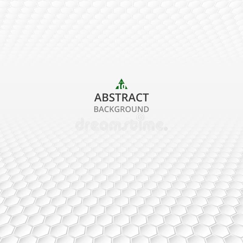 Αφαίρεση του polygonal γκρίζου και άσπρου γεωμετρικού σχεδίου backgr διανυσματική απεικόνιση