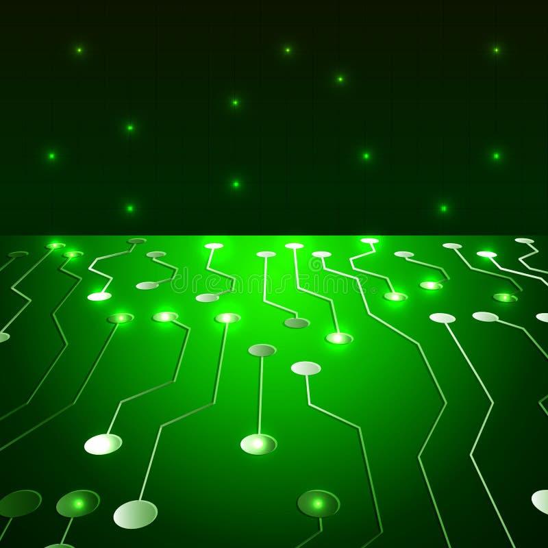 Αφαίρεση των τεχνολογιών υψηλής τεχνολογίας ελεύθερη απεικόνιση δικαιώματος