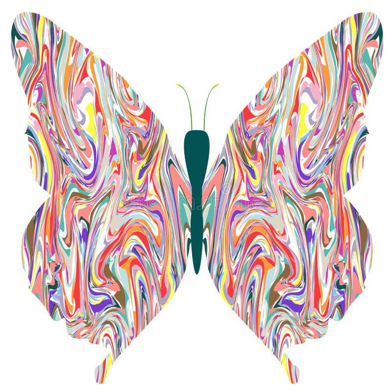 αφαιρέστε τα χρώματα πετα&lam ελεύθερη απεικόνιση δικαιώματος
