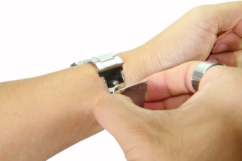 Download Αφαιρέστε το ρολόι από τον καρπό Στοκ Εικόνα - εικόνα από αλλαγή, ρολόγια: 62716303