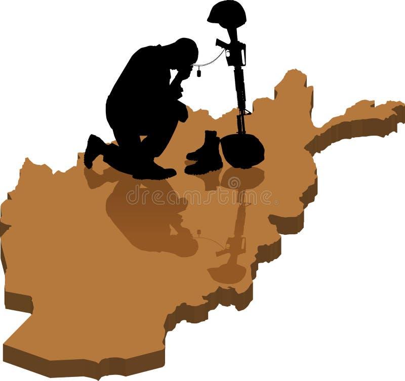 Αφγανός πεσμένος ελεύθερη απεικόνιση δικαιώματος