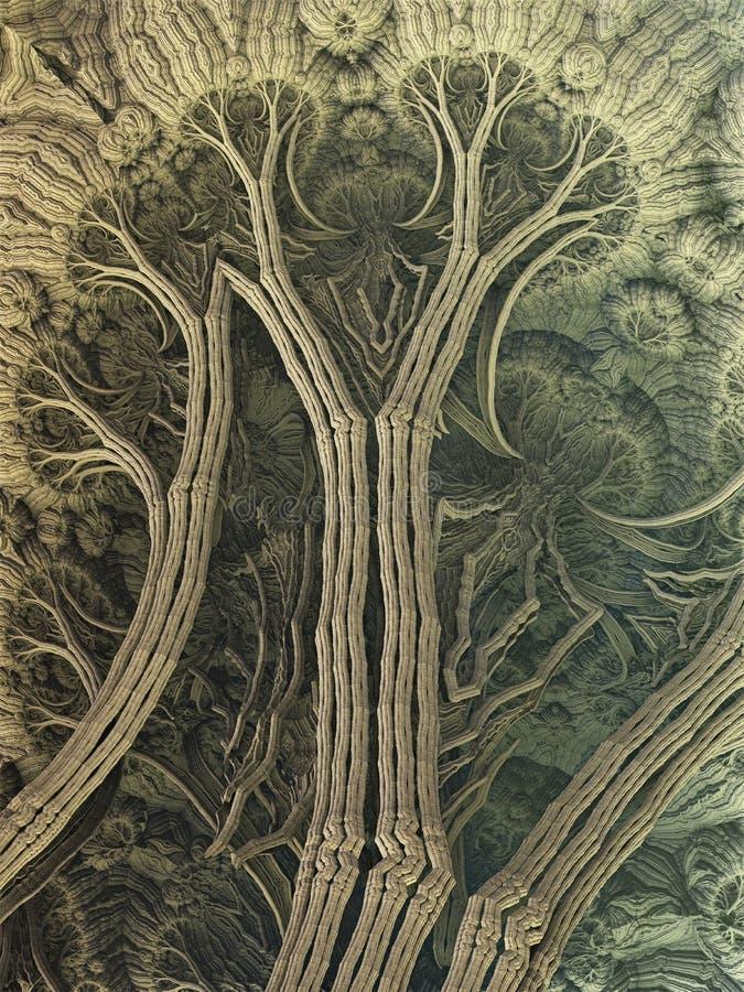 Αφηρημένα δέντρα απεικόνιση αποθεμάτων