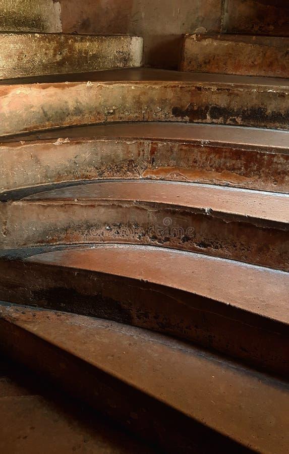Αφηρημένα βήματα στο πύργο Chillon Ελβετία στοκ εικόνες με δικαίωμα ελεύθερης χρήσης