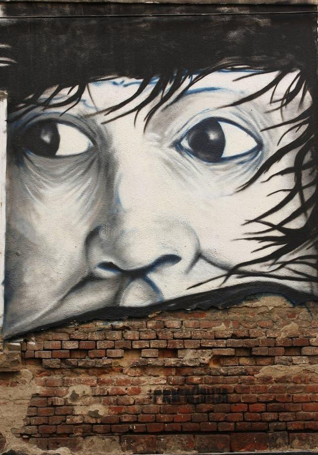 αφηρημένα γκράφιτι στοκ φωτογραφία