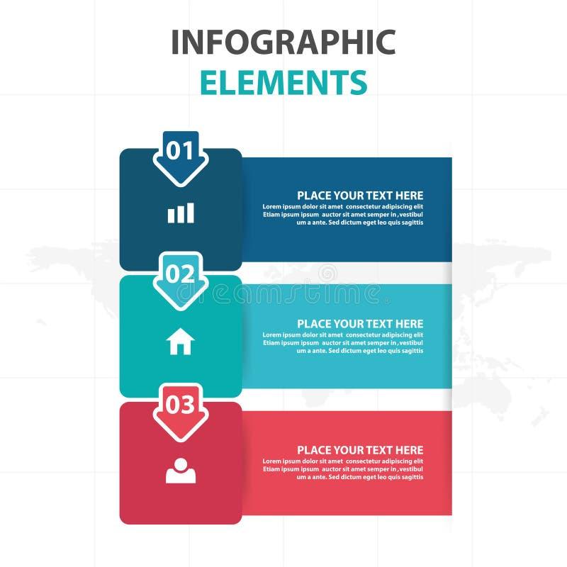 Αφηρημένα ζωηρόχρωμα στοιχεία επιχειρησιακού Infographics βελών και ετικετών, παρουσίασης διανυσματική απεικόνιση σχεδίου προτύπω διανυσματική απεικόνιση