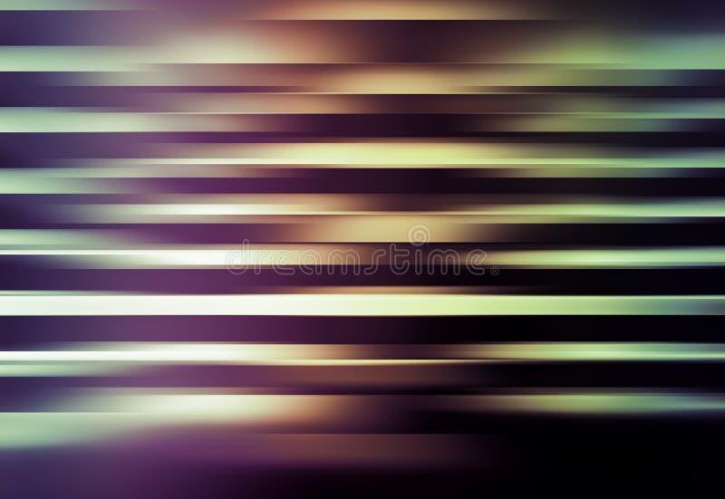 Αφηρημένα ζωηρόχρωμα ψηφιακά λάμποντας λωρίδες υποβάθρου απεικόνιση αποθεμάτων