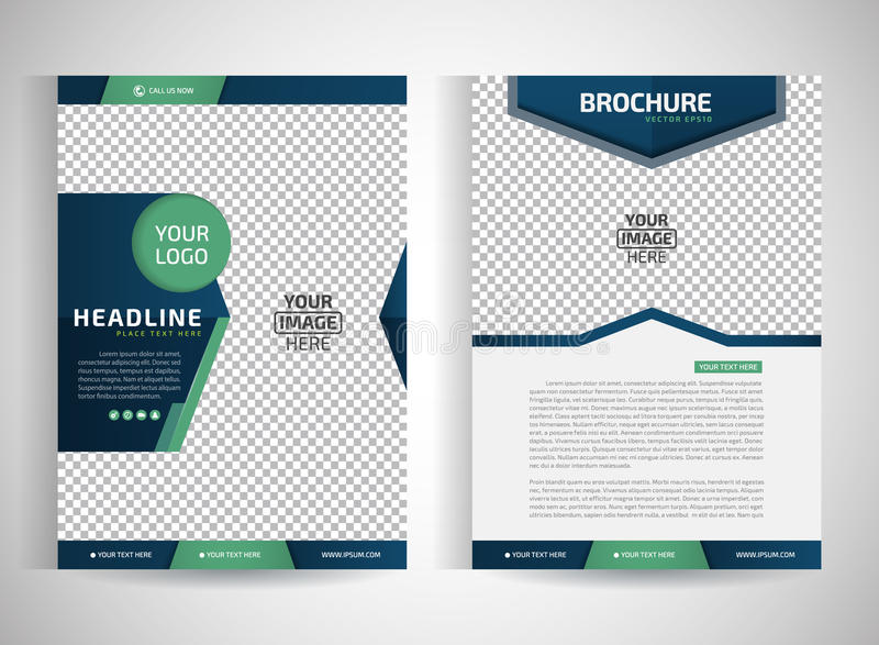 Αφηρημένα διανυσματικά σύγχρονα πρότυπα του /design φυλλάδιων/ετήσια εκθέσεων ιπτάμενων/χαρτικά με το άσπρο υπόβαθρο σε μέγεθος a ελεύθερη απεικόνιση δικαιώματος