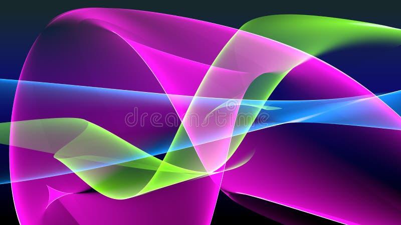 αφηρημένα κύματα ανασκόπηση απεικόνιση αποθεμάτων