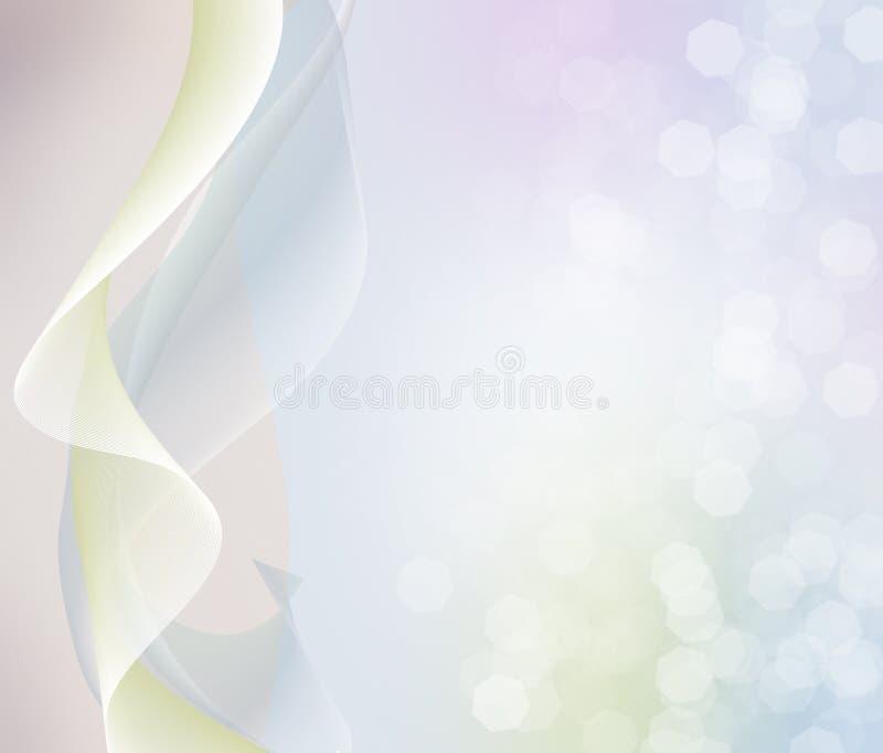 αφηρημένα κύματα κρητιδογ&rh διανυσματική απεικόνιση