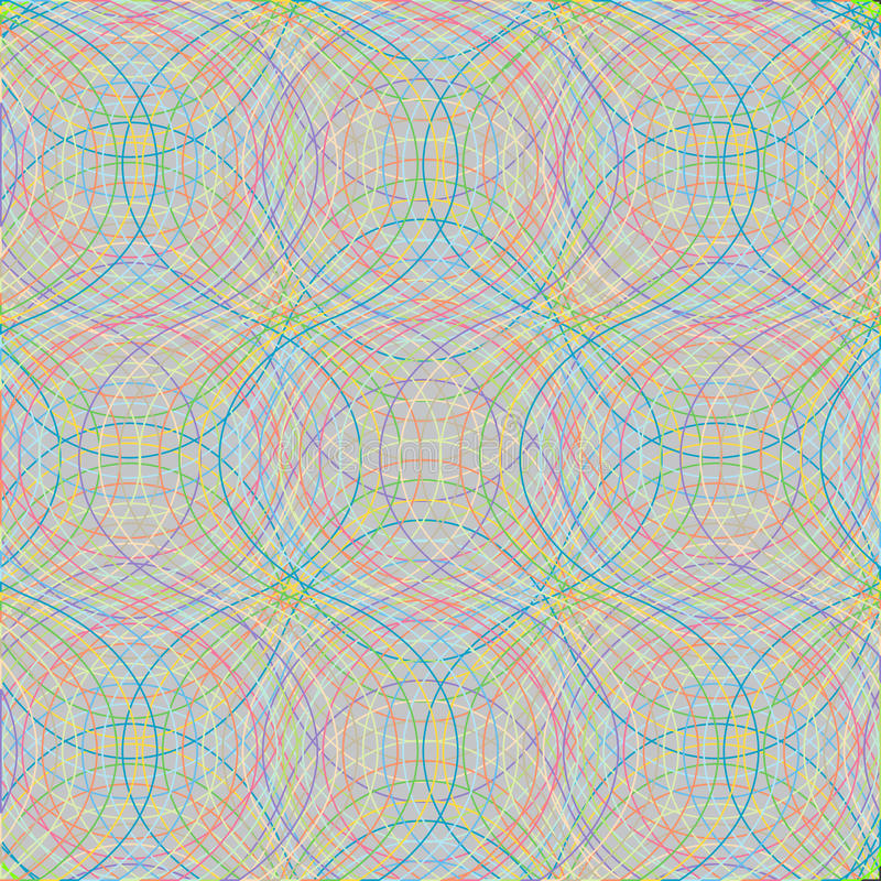 Download αφηρημένα κύματα πλέγματος διανυσματική απεικόνιση. εικονογραφία από γραμμή - 13187598