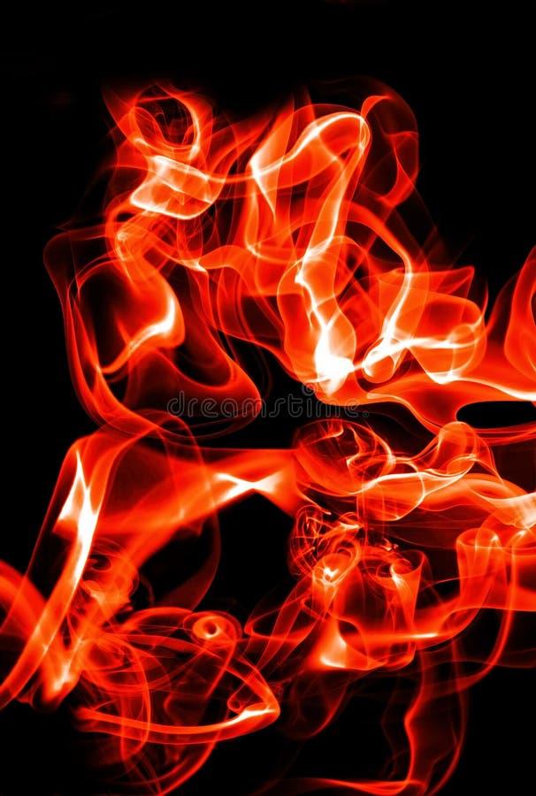 αφηρημένα κύματα πυρκαγιάς στοκ φωτογραφία με δικαίωμα ελεύθερης χρήσης