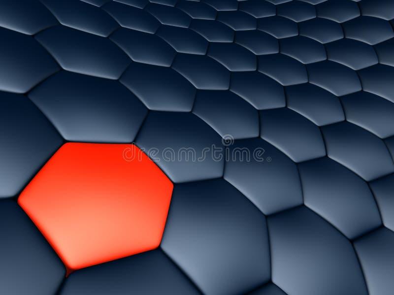 αφηρημένα κύτταρα διανυσματική απεικόνιση