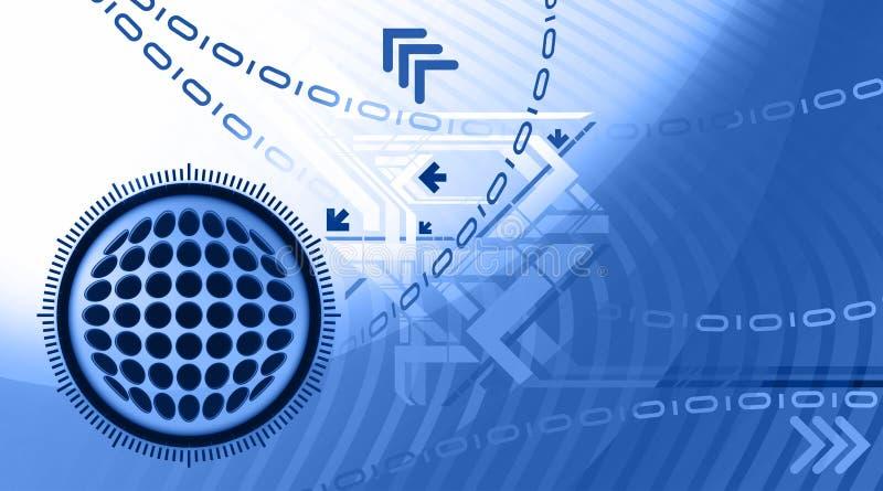 αφηρημένα μπλε σχέδια διανυσματική απεικόνιση