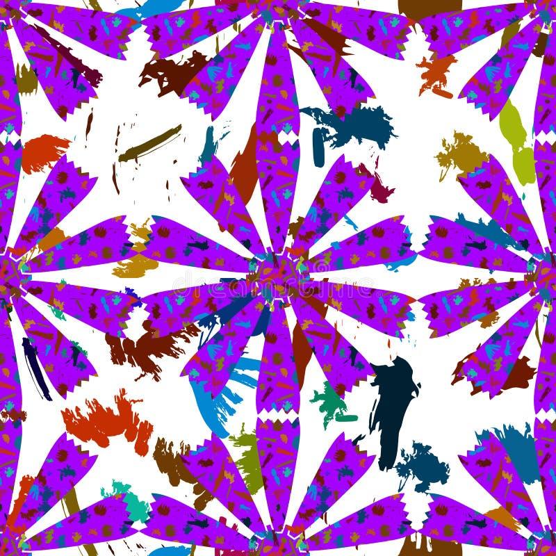 Download Αφηρημένα λουλούδια από τα κτυπήματα χρωμάτων Διανυσματική απεικόνιση - εικονογραφία από καλοκαίρι, κίτρινος: 62717559
