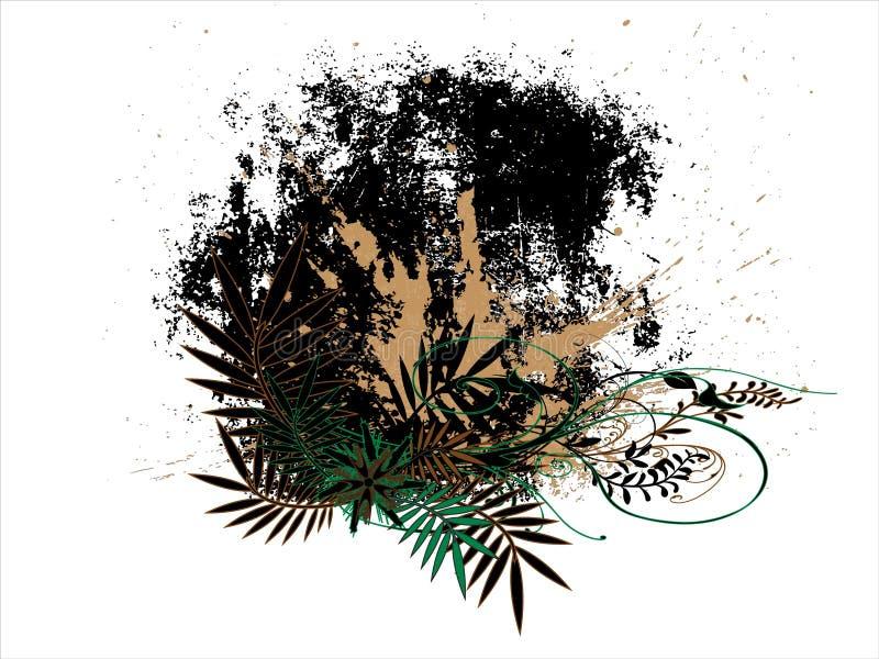 Αφηρημένα λουλούδια στοκ εικόνα με δικαίωμα ελεύθερης χρήσης