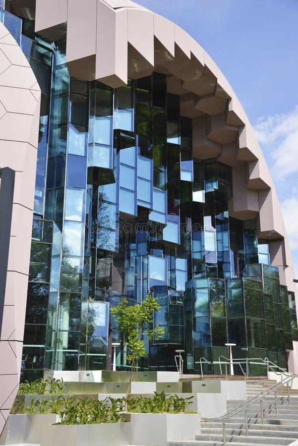 Αφηρημένα παράθυρα κύβων γυαλιού στοκ εικόνες με δικαίωμα ελεύθερης χρήσης